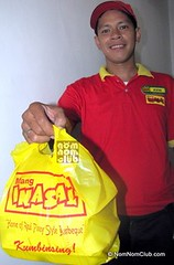 Mang Inasal Delivery Boy Photo