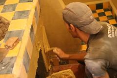 Cobrir as paredes com Tadelakt