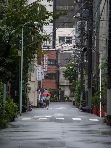 雨の人形町