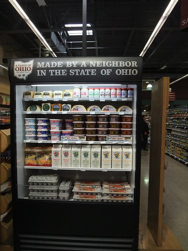 Ohio Dairy Products at Giant Eagle Market District Kingsdale