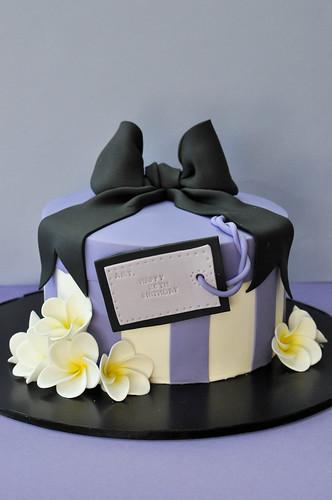 present box cake