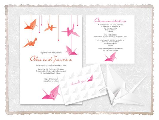 paper crane range