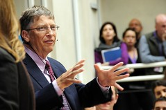 Bill Gates speaks to staff at DFID [Photo by DFID - UK Department for International Development] (CC BY-SA 3.0)