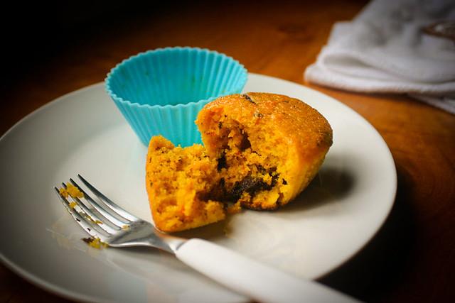 Muffin de Cenoura...