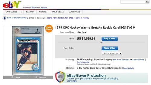 Gretzky rookie