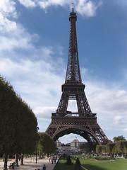 Eiffel Tower - postcard view!