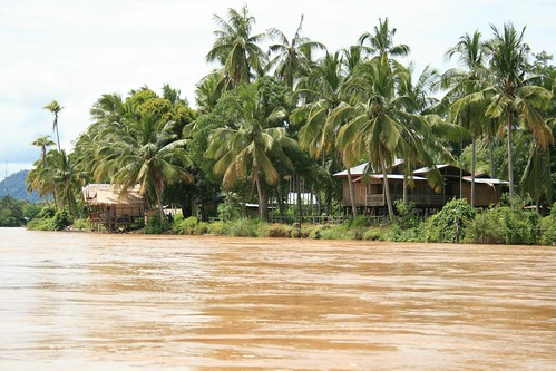 the Mekong, Don Det, Laos