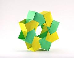 8-Piece Mette-Bascetta Ring (rebecccaravelry) Tags: origami mette modular lafosse michaellafosse bascetta mettepederson paolobascetta