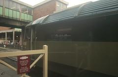 Class 47 Diesel Train : No. D1501 Generator  : Bury : ELR Diesel Gala : (norbet1) Tags: uk england english digital train photoshop bury nikon diesel zoom north wide sigma railway lancashire adobe british locomotive elr preservation lenses nikond1x sulzer class47 alltypesoftransport dualheat strumbox sigma1835mmf3545dasphericalautofocuszoom