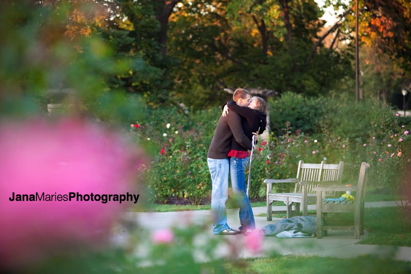 Lose Park Kansas City, Jenny & Austin proposal, Kansas City wedding photography