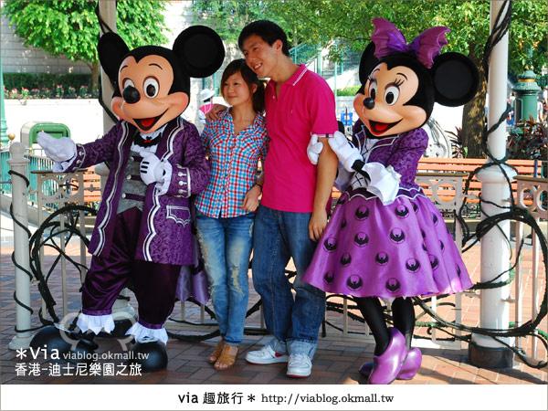【香港自由行】跟著via玩香港(1)~爆走香港迪士尼樂園20
