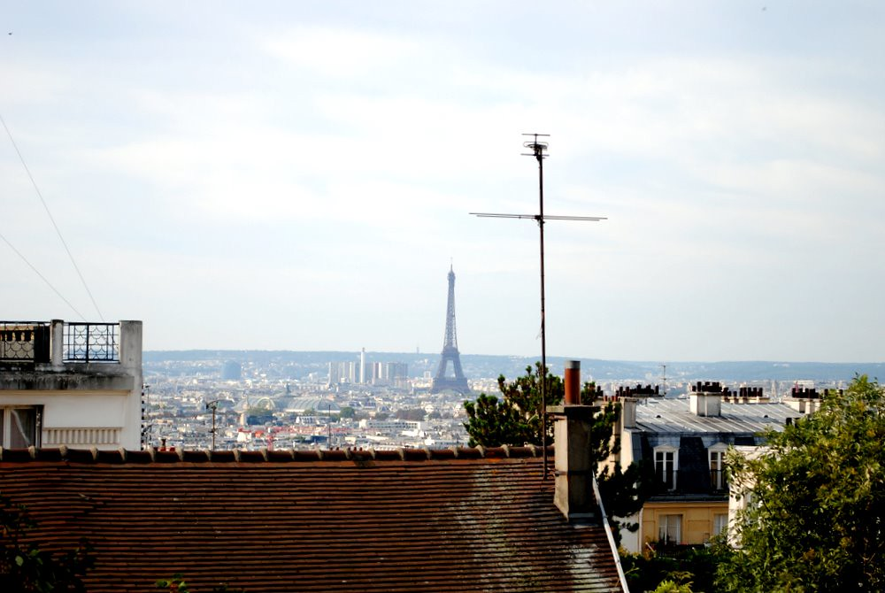 the paris skyline