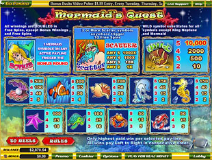 free Mermaid's Quest slot mini symbol