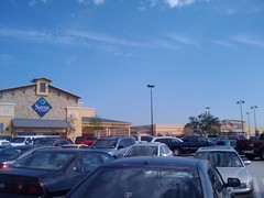 "Sam's Club and Super Walmart... side by side.  megaMART.  ""welcome to costco.  i love you"" (Walker the Texas Ranger) Tags: club tx walmart denton sams g1phonegoogle"