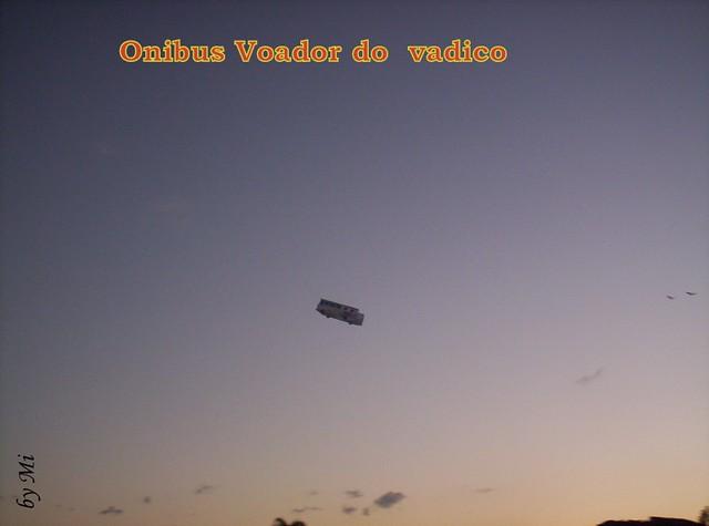 Qual foi o objeto mais estranho que você já viu voar? 5105693043_affc5ce8ce_z