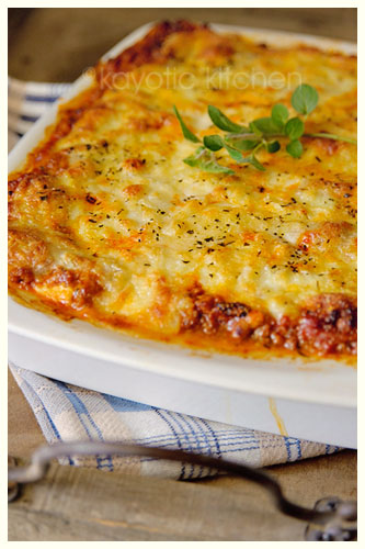 Tyler`s Ultimate Lasagna « Kayotic Kitchen