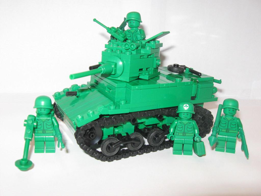 Green Army Men M3A1 Stuart