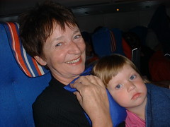 DSCF0044 (lilbuttz) Tags: italy woman airplane child accentflorencespring2002