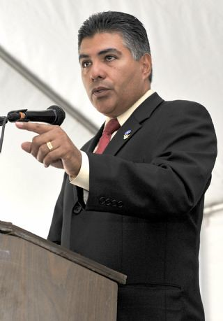 Tony Cardenas at Valley Cares Family Justice Center Opening