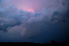 Storm front (firefocus) Tags: rain night clouds thunderstorm lightning storms justclouds