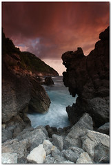 roca diablo II (chris frick) Tags: seascape motion coast rocks exposure waves tripod filter tones mallorca mediterraneansea cokin a550 remoteshuttercontrol chrisfrick bensdavall 8gnd sonyalpha550 tobaccolight rocadiablo