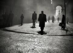 Zombies #4 (Rui Palha) Tags: street people bw blackwhite lisbon streetphotography interestingness8 noirblanche ruipalha