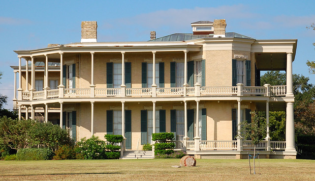 Giddings-Stone Mansion (1869)--east side, Brenham, TX
