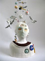 Astronaut Sculpture 5 (Pearson-Maron) Tags: sculpture art ceramic astronaut spaceexploration adammaron quincypearson nasacontest