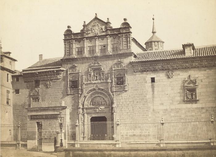 Museo de Santa Cruz en el siglo XIX.