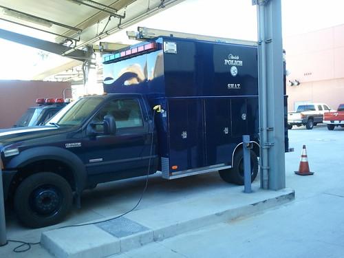 SWAT Vehicle Glendale Police Department, Glendale California