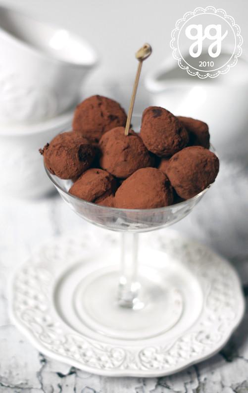 tartufi al cioccolato e peperoncino
