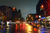 Rain on Chelsea (Rafakoy) Tags: pictures street city nyc newyorkcity light shadow people ny newyork color colour reflection cars wet colors car rain night digital reflections lights photo high chelsea colours shadows with darkness image photos pavement manhattan picture taken images iso sample late meatpackingdistrict 5000 avenue nite cubacafe afsnikkor18105mmvr nikond7000