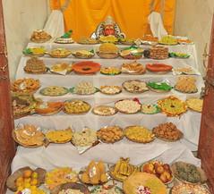 Chhappan Bhog, Ramanreti (6th November, 2010) (Udasin Karshni Ashram / Naresh Swami) Tags: diwali deepawali gokul mathura festivalofindia diwalicelebrations ramanreti mahavan chhappanbhog swamikarshninaresh sriudasinkarshniashram triumphofgoodoverevil deepawalicelebrations biggestindianfestival nareshswami
