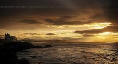 [Explore] Sunset To Biarritz ~ Pyrnes-Atlantiques // France ~ (Yannick Lefevre) Tags: ocean sunset seascape france castle photoshop landscape nikon raw nef pov tripod wideangle ps atlantic capture sunrays paysage biarritz gettyimages manfrotto atlantique d300 aquitaine paysbasques pyrnesatlantiques sigma1020 nikoncapturenx nx2 plagedesbasques yannicklefevre  photography