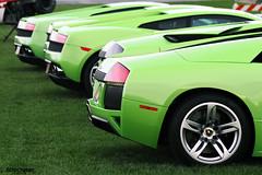 Verde Lineup (Alex Weber) Tags: red orange verde green alex car speed canon photography italia fast ferrari spot spyder exotic lp 7d 650 ithaca lamborghini sv weber countach gallardo 670 lambo 560 640 458 lp640 lp560