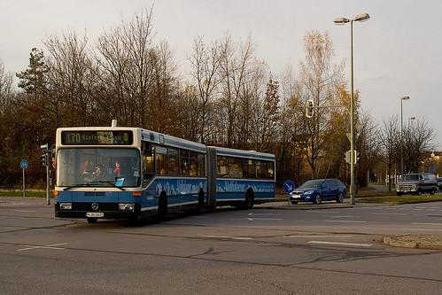O405GN von Autobus Oberbayern am Euroindustriepark Nord