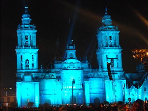 Yo México en el Zócalo de la ciudad de México