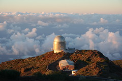 Above The Clouds (rvr) Tags: observatory telescope lapalma canaryislands orm roquedelosmuchachos nordicopticaltelescope