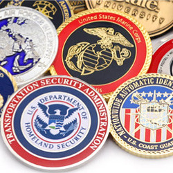 Collecting Challenge coins