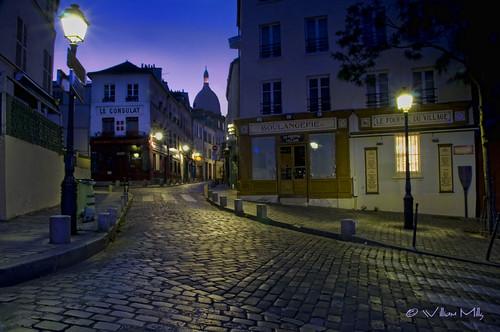 Pre-Dawn Montmartre