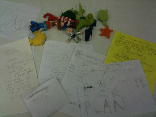 Finger Puppets and Story Scripts