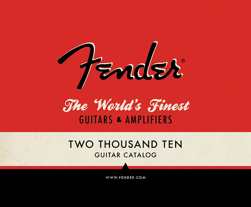 Front Cover, Fender booklet (2010)