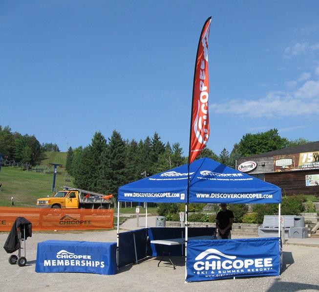 Chicopee 16x16 Shelter Setup