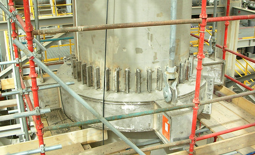 """58"""" Floating Rings for High Temperatures of up to 1200°F for a Polypropylene Plant"""