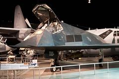 Lockheed F-117A Nighthawk ALK_7915.jpg (akirkfoto) Tags: ohio museum nikon raw nef tn jet stealth bomber lockheed dayton nighthawk usairforce d300 f117a akirkfoto adamkirkphotography