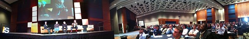 "Panoramic of @Internet_summit ""Future"" keynote and audience #isum10"