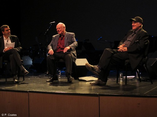 Sense of Place opens at the Yukon Arts Centre.  Nino Ricci in conversation with Alistair MacLeod and IAIN BAXTER&:  A Discussion on the role of place in art and literature. 040