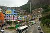 Rocinha Favela in Rio de Janeiro