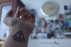 146/365 The Deathly Hallows FTW. [Explored] (jaaanet ) Tags: up movie four this am harry potter like excited tags after hours why adding now epic posting hallows deathly