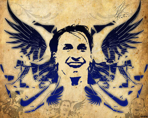 wallpaper ibrahimovic. Ibrahimovic Wallpaper